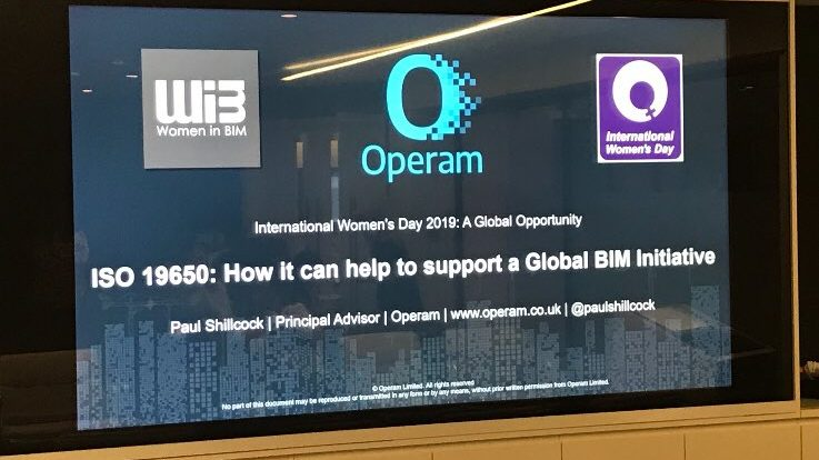 Women in BIM: Operam Presentation